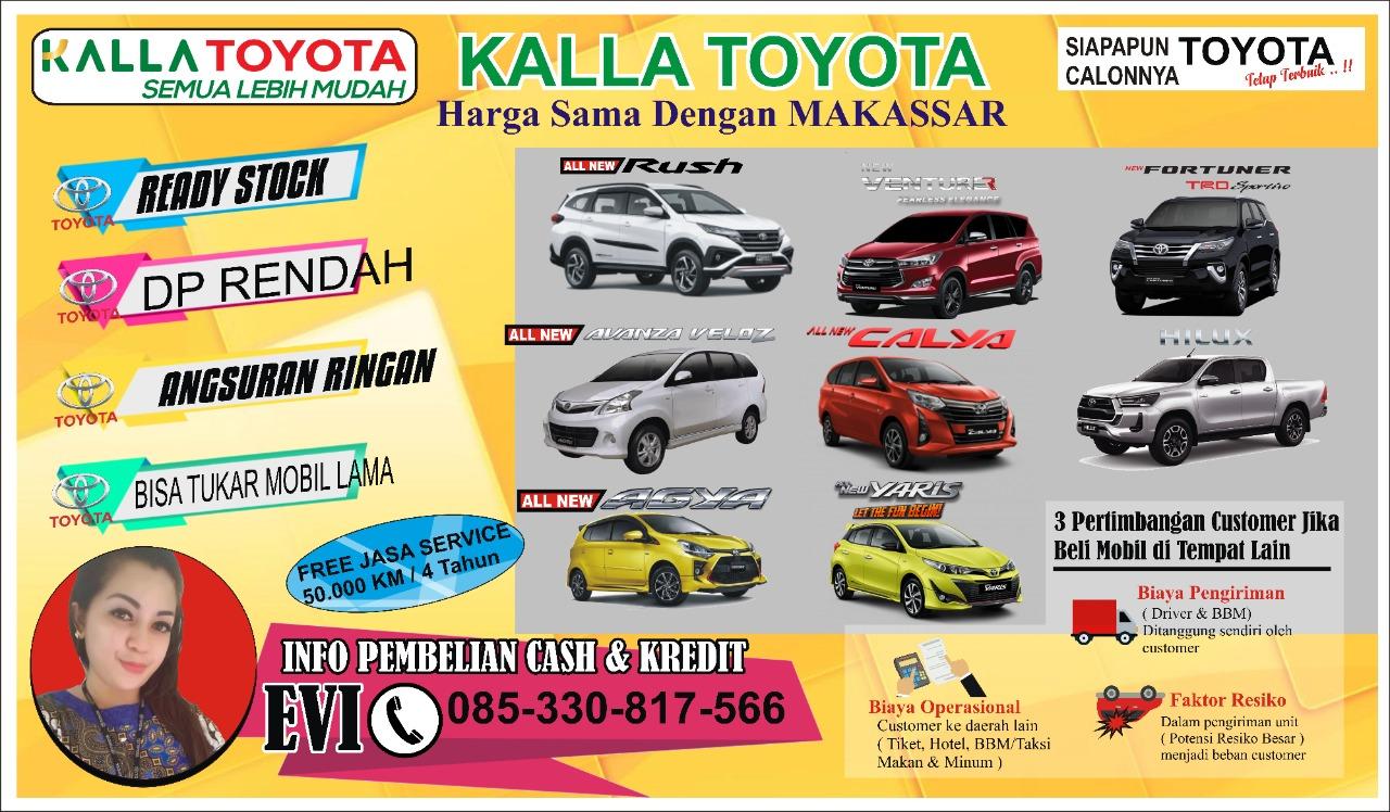 Beli Mobil di Kalla Toyota Tak Pernah Rugi