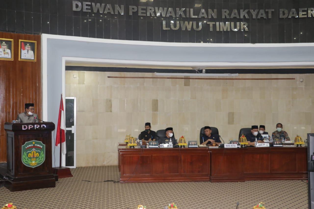 Paripurna DPRD Kabupaten Luwu Timur