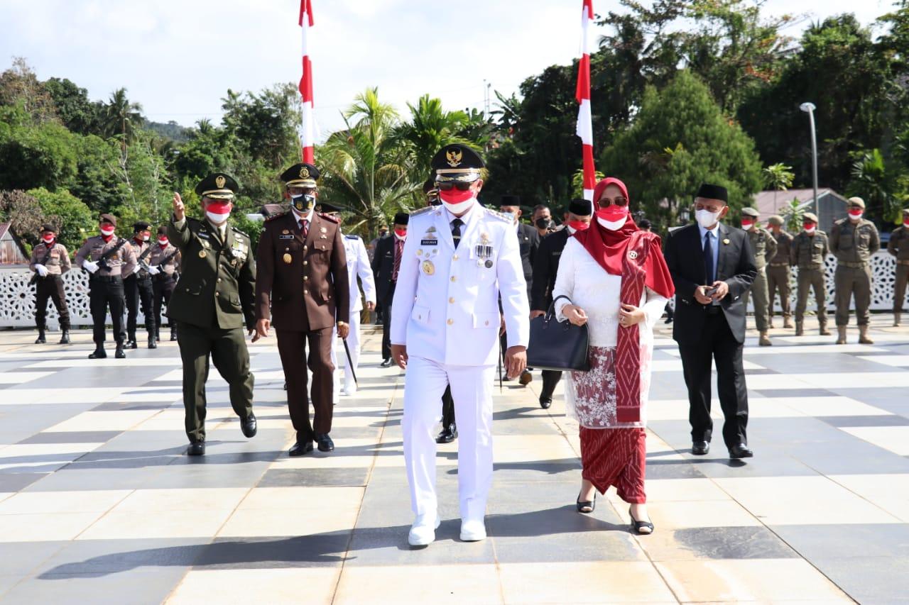 Upacara Peringatan HUT RI Ke-76 di Luwu Timur