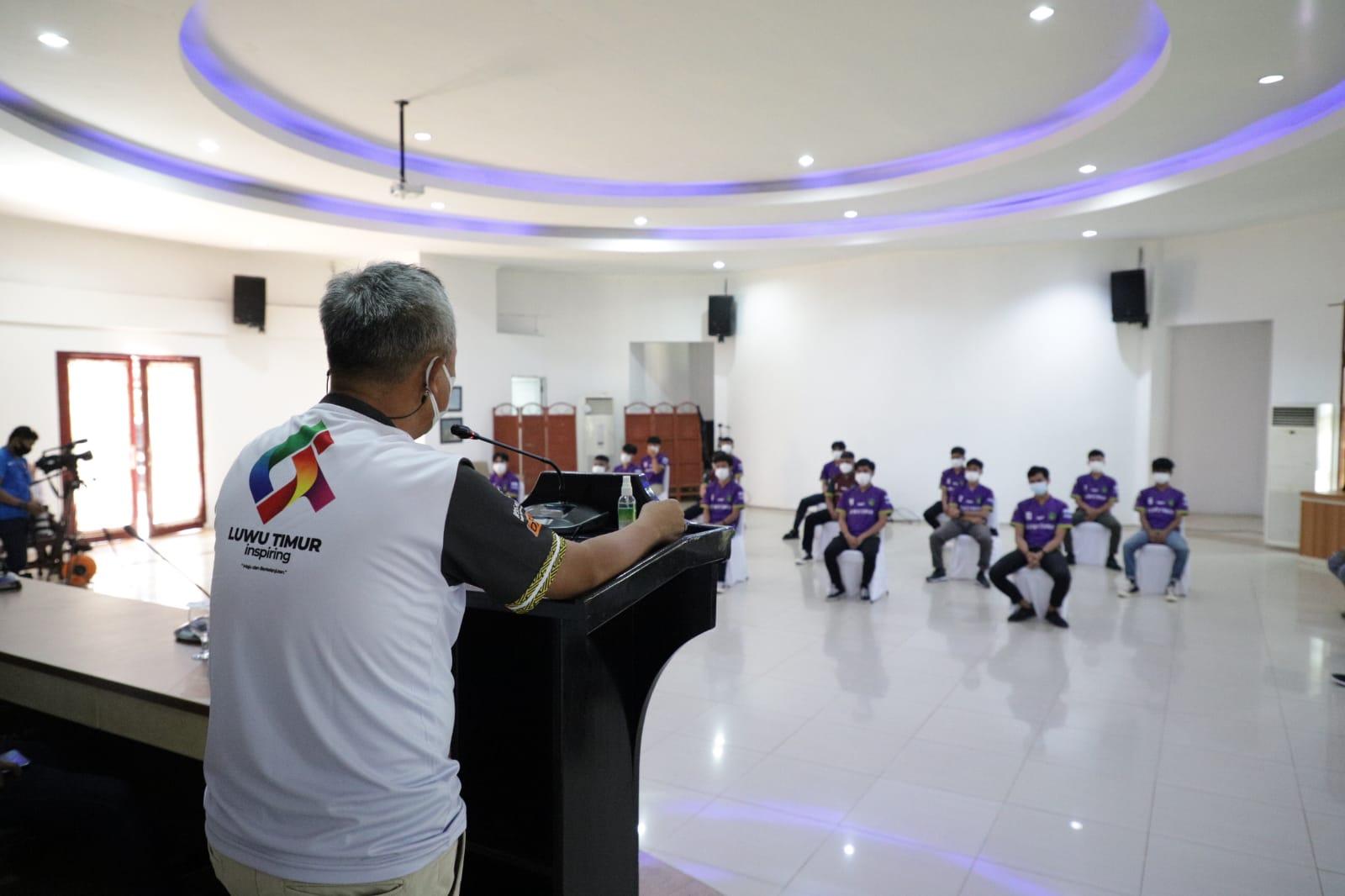 Selamat Bertanding Tim Futsal Luwu Timur, Bupati Mendukungmu