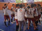 Bermain Imbang Lawan Bantaeng, Tim Futsal Luwu Timur Lolos ke Porprov