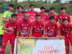 Tim Sepakbola Praporprov Lutim Lolos ke Porprov, Tumbangkan Palopo