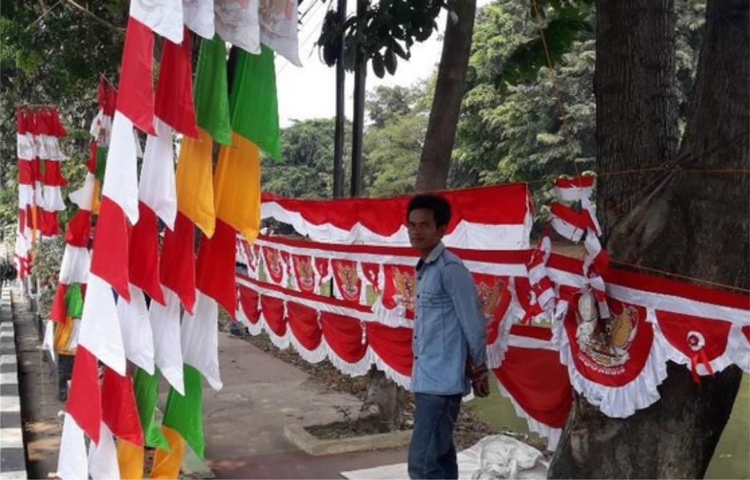 pedagang bendera 17-an