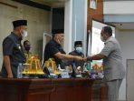 Pandangan Umum Fraksi DPRD Lutim Terhadap Ranperda Perubahan