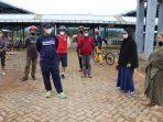Berolahraga Pun Bupati Pantau Perkembangan Proyek