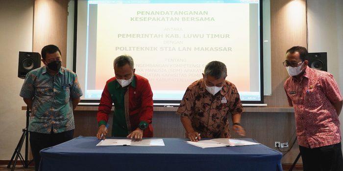 Jalin Kesepakatan Dengan Pemkab Lutim, STIA LAN Makassar Akan Lakukan ini