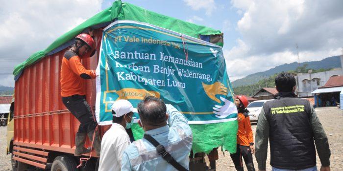 Bantuan Kemanusian Vale Indonesia Untuk Korban Banjir Bandang Luwu
